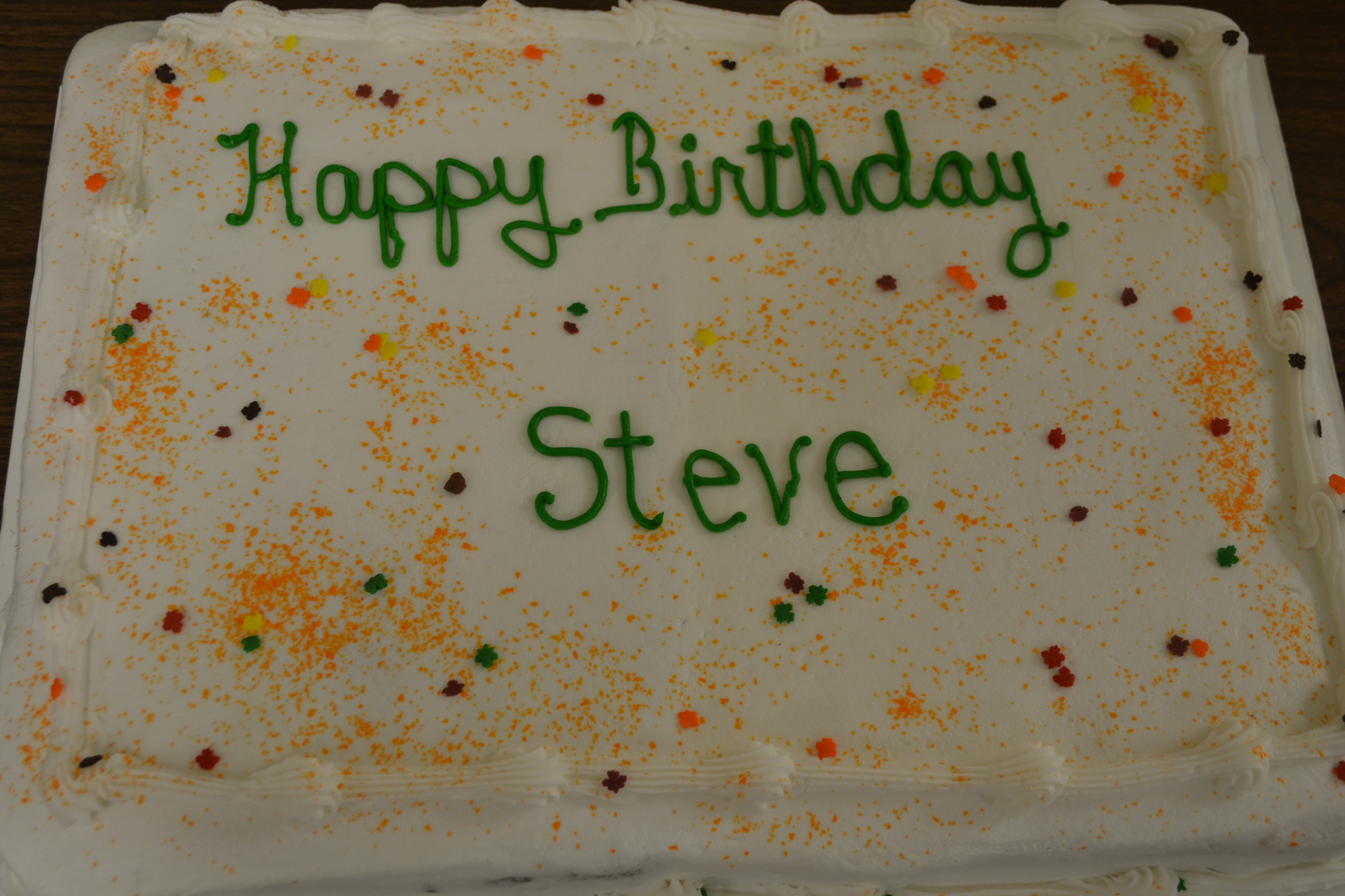 birthday cake The Hope Center of Hagerstown